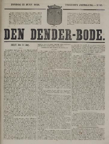 De Denderbode 1848-06-25