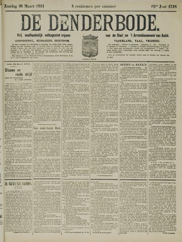 De Denderbode 1911-03-26