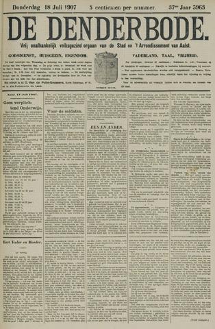 De Denderbode 1907-07-18
