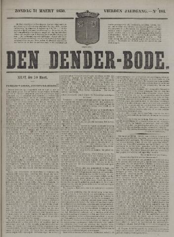 De Denderbode 1850-03-31
