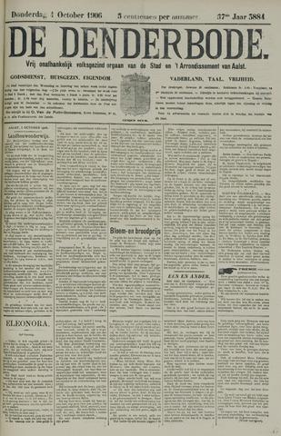 De Denderbode 1906-10-04
