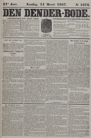 De Denderbode 1867-03-31