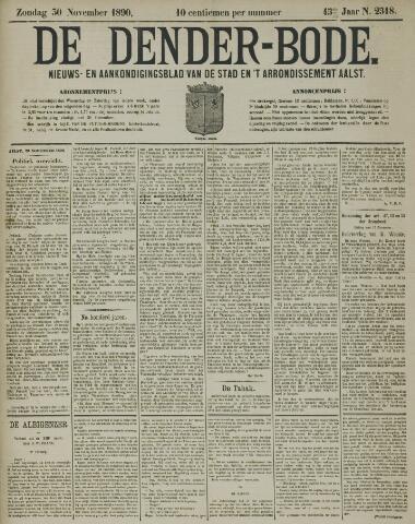 De Denderbode 1890-11-30