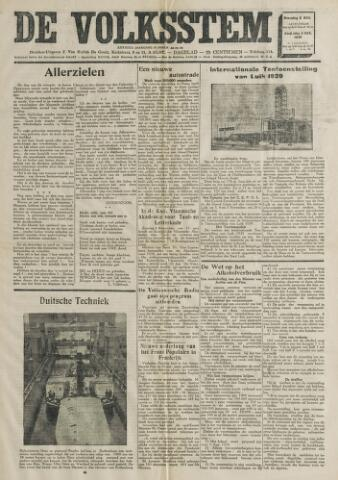 De Volksstem 1938-11-02