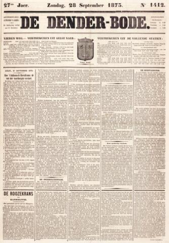 De Denderbode 1873-09-28