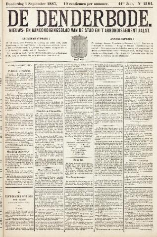 De Denderbode 1887-09-01