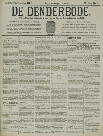 De Denderbode 1907-11-24