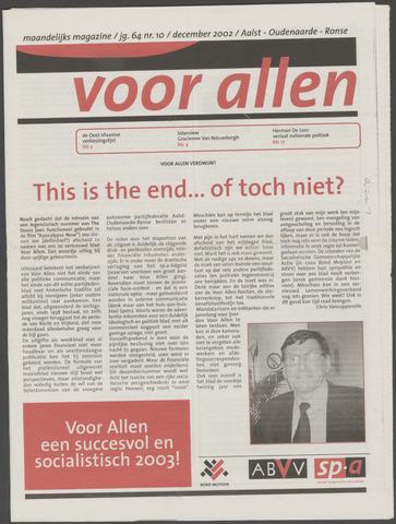 Voor Allen 2002-12-01