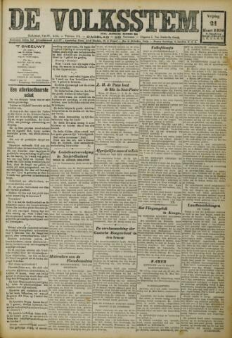 De Volksstem 1930-03-21