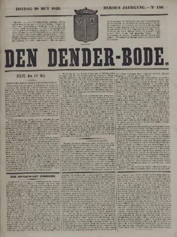 De Denderbode 1849-05-20