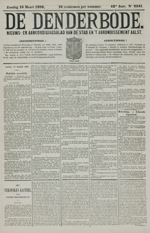 De Denderbode 1888-03-18