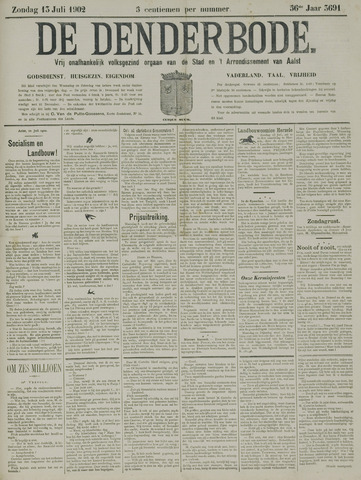 De Denderbode 1902-07-13