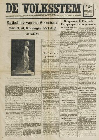 De Volksstem 1938-09-25