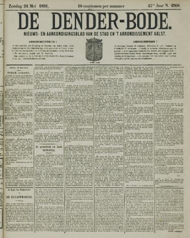De Denderbode 1891-05-24