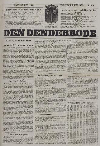 De Denderbode 1860-06-17