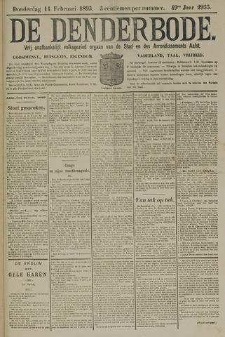 De Denderbode 1895-02-14