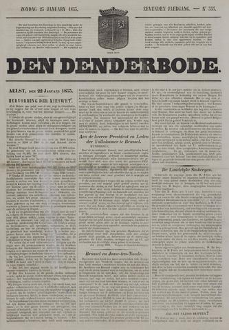 De Denderbode 1853-01-23