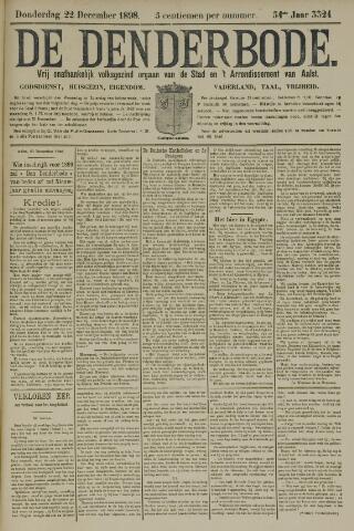 De Denderbode 1898-12-22