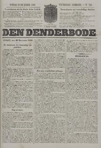De Denderbode 1860-12-30