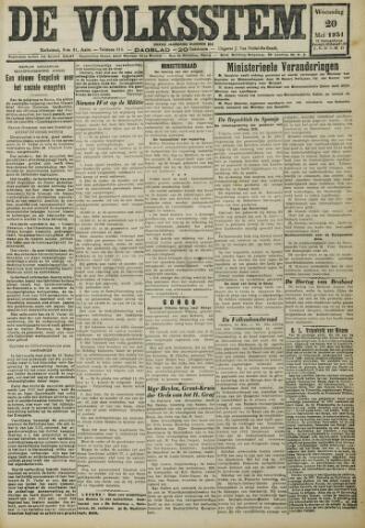 De Volksstem 1931-05-20