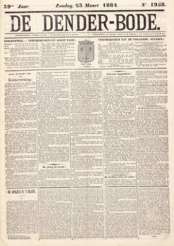 De Denderbode 1884-03-23