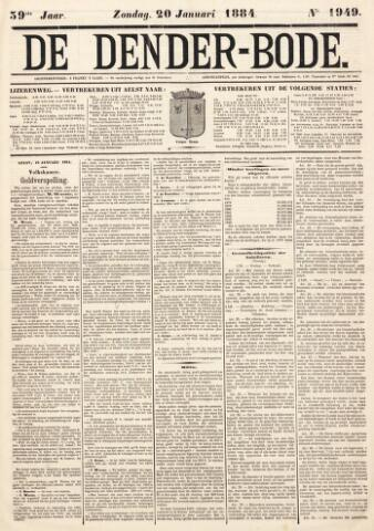 De Denderbode 1884-01-20