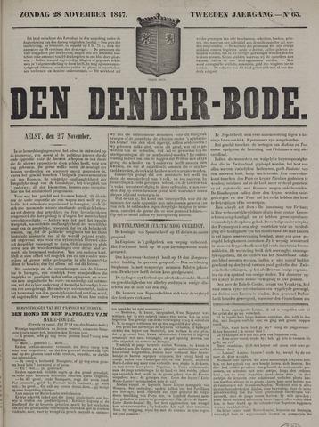 De Denderbode 1847-11-28