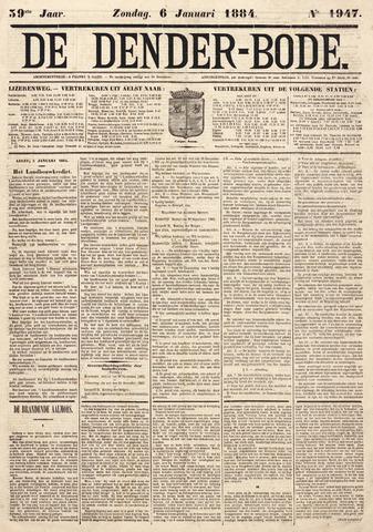 De Denderbode 1884-01-06