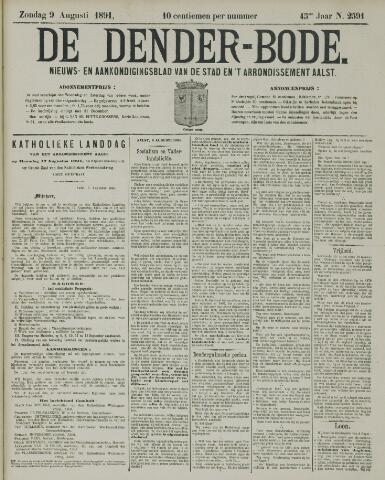 De Denderbode 1891-08-09