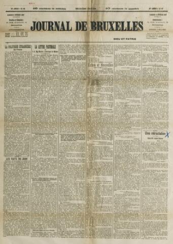 Journal de Bruxelles 1907