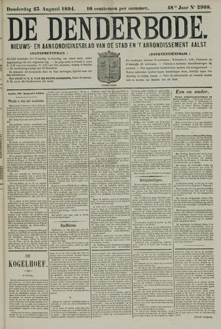 De Denderbode 1894-08-23
