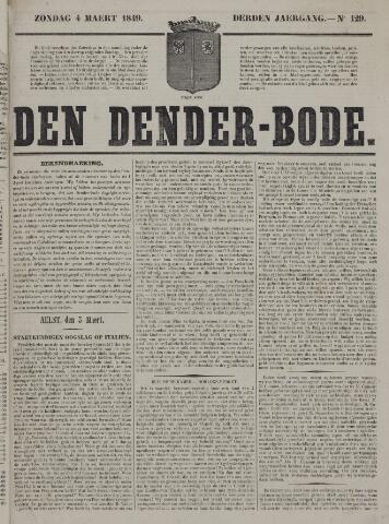 De Denderbode 1849-03-04