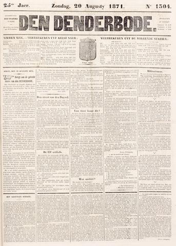 De Denderbode 1871-08-20