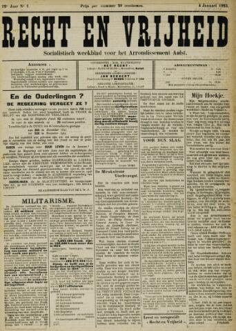 Recht en Vrijheid 1925