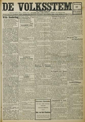 De Volksstem 1930-04-17