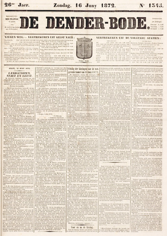 De Denderbode 1872-06-16