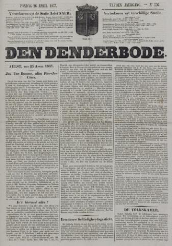 De Denderbode 1857-04-26