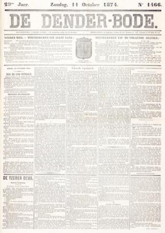 De Denderbode 1874-10-11