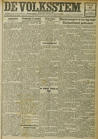 De Volksstem 1923-11-13