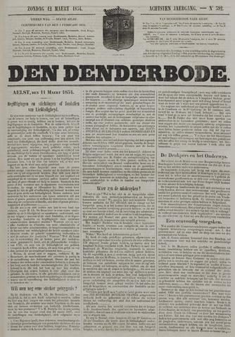 De Denderbode 1854-03-12
