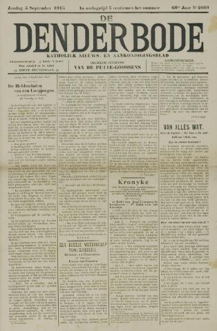 De Denderbode 1915-09-05