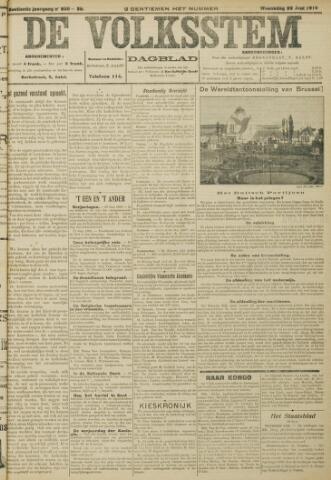 De Volksstem 1910-06-29