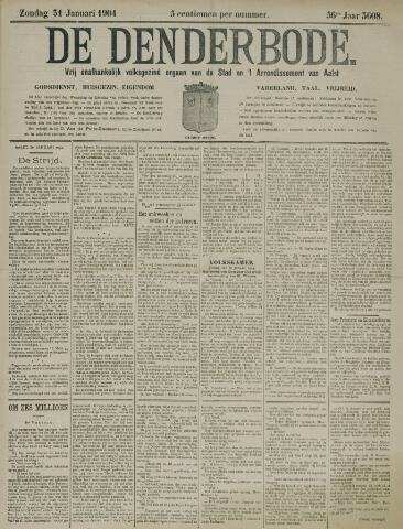 De Denderbode 1904-01-31