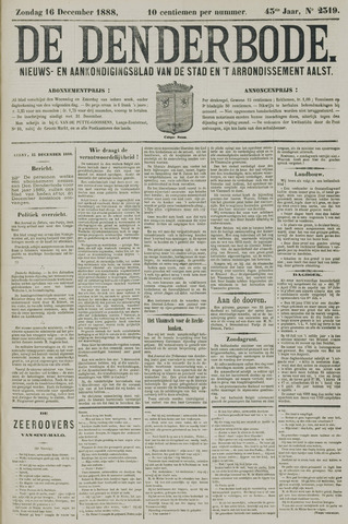 De Denderbode 1888-12-16