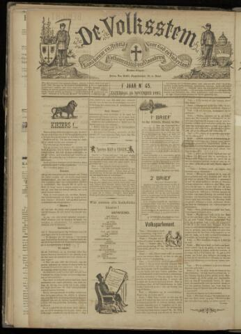 De Volksstem 1895-11-16