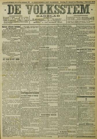 De Volksstem 1915-01-31