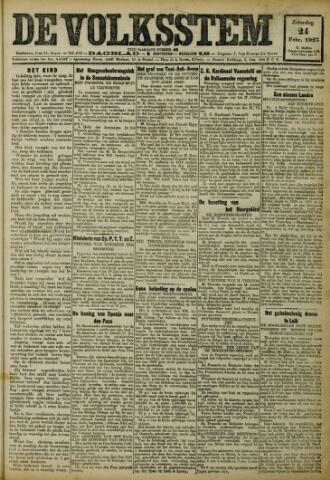 De Volksstem 1923-02-24