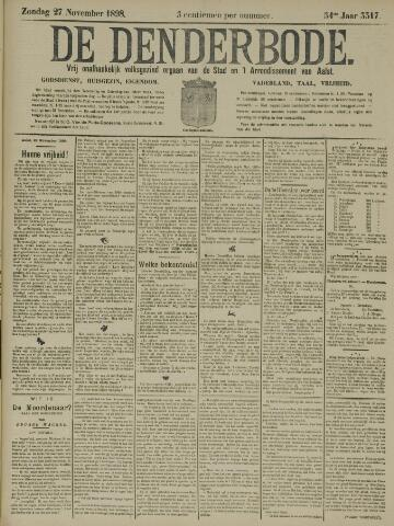 De Denderbode 1898-11-27