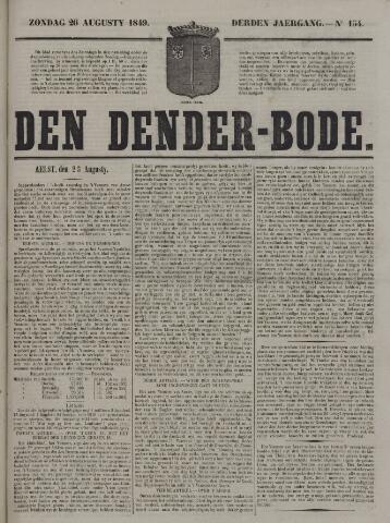 De Denderbode 1849-08-26