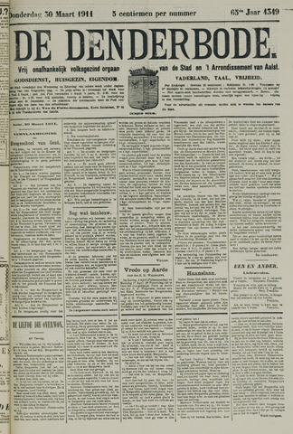 De Denderbode 1911-03-30